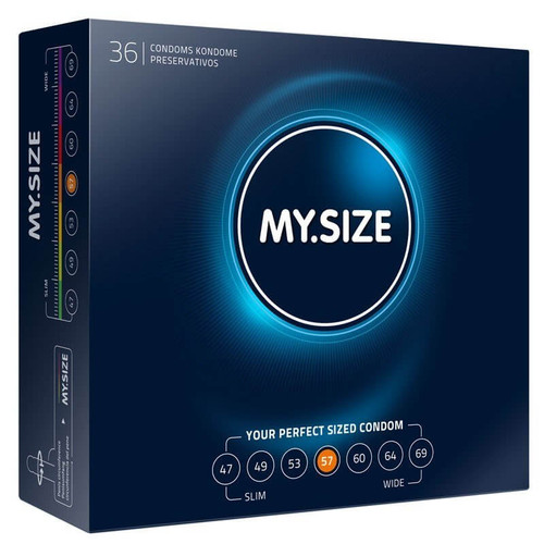 My Size 57mm Condoms Bulk