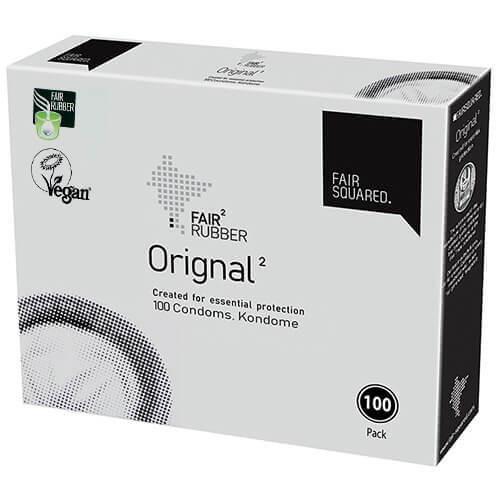 Fair Squared Original Condoms Bulk