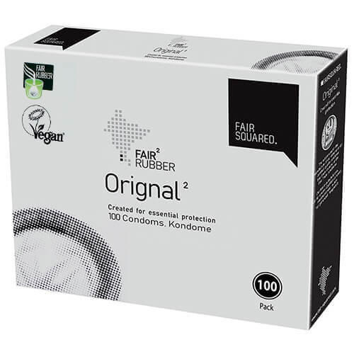 Fair Squared Original Condoms Bulk