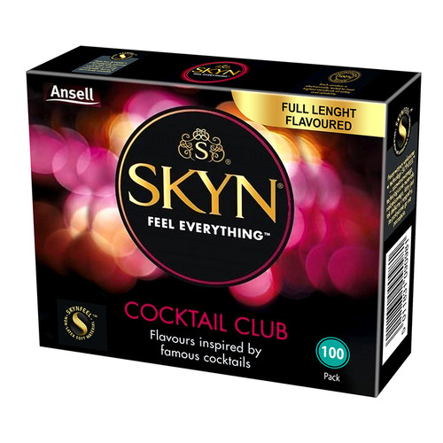 Skyn Cocktail Club Condoms Bulk Pack