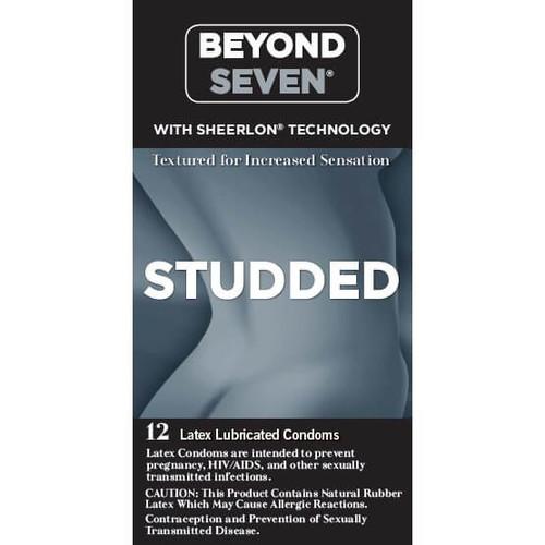 Beyond Seven Studded Condoms