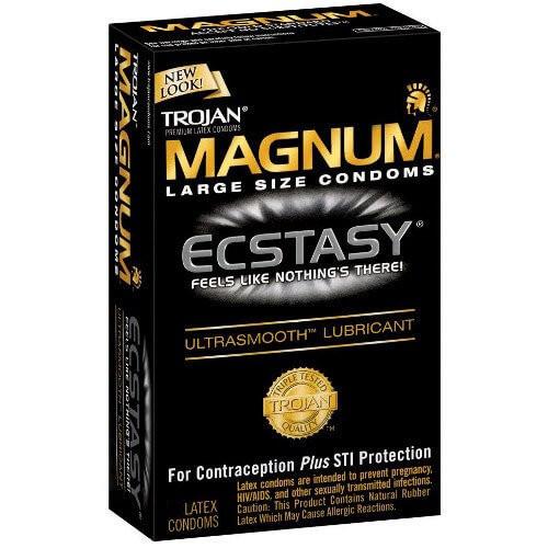 Trojan Magnum Ecstasy Condoms
