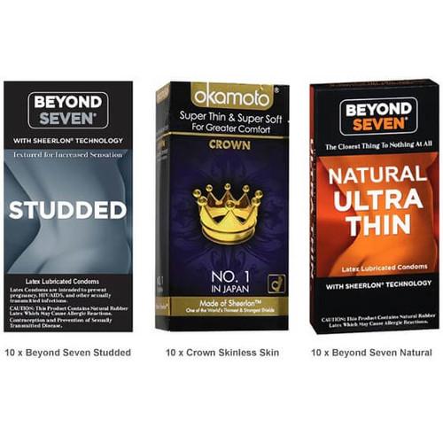 Beyond Seven Condoms Value Pack