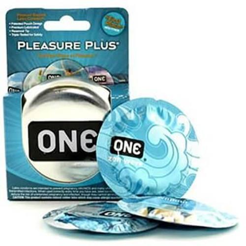 Pleasure Plus One Condoms