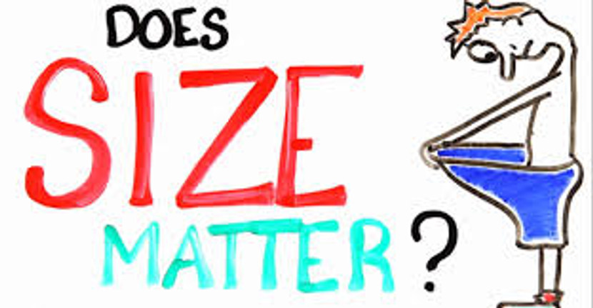 Does Size REALLY Matter? (Honestly)