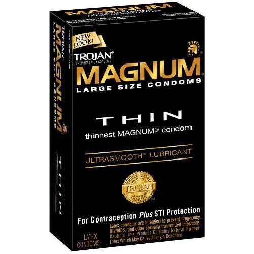 Trojan Magnum Thin Condoms  Buy Online From 149-2647