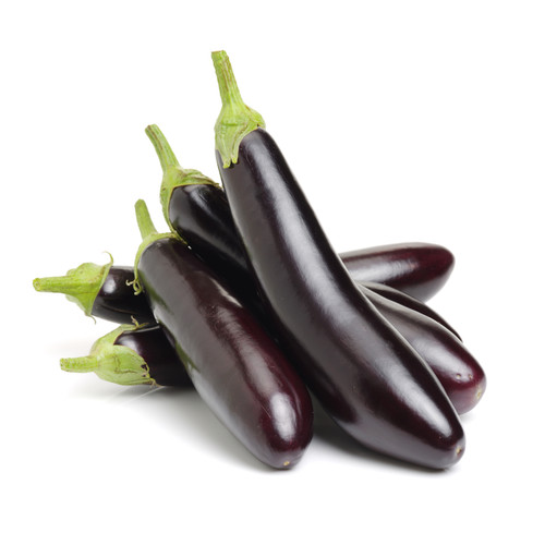 Organic eggplants are nutrient dense foods. They are high in anthocyanins, a pigment with antioxidant properties that can protect against cellular damage.