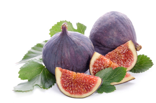 Seasonal black figs