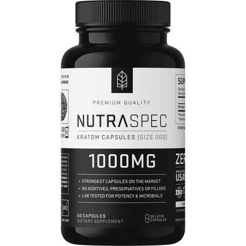 NutraSpec Full Spectrum 1000mg Capsules