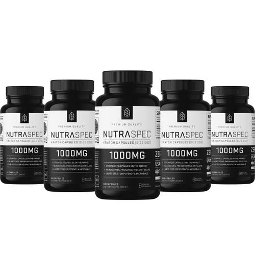 NutraSpec 5 Pack Variety 60ct