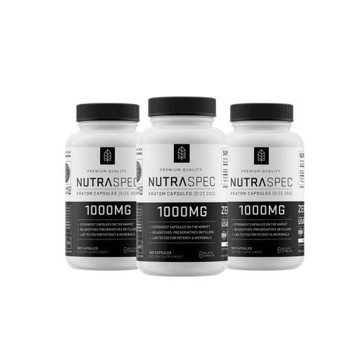 NutraSpec 3 Pack Variety 180ct