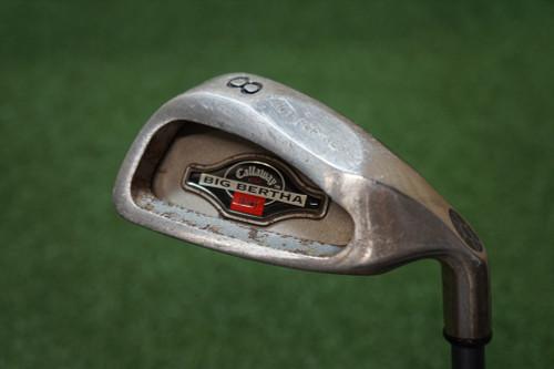 Callaway 1994 Big Bertha Stiff Flex Single Iron 8 Iron Graphite 0268952 Used