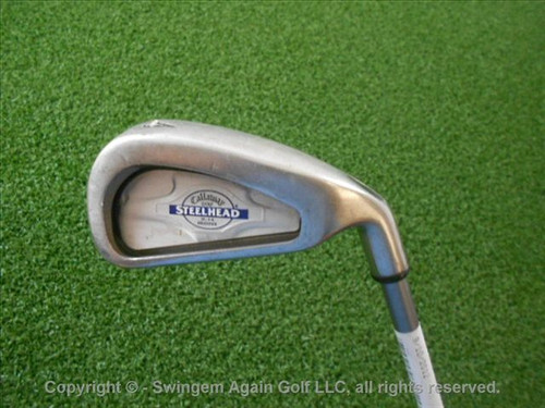 Callaway Steel Shafthead X-14 4 Iron Graphite Shaft Stiff Condition Used Golf