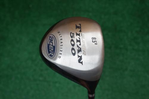 Acer Super Titanium 500 8.5 Degree Driver Stiff Flex Graphite 0257621 Used Golf