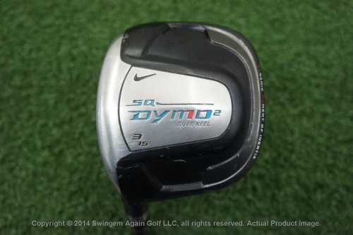 Lh Nike Sq Dymo 2 15 Degree 3 Fairway Wood Graphite Regular Flex J131921-A Used