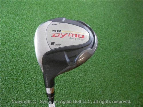 Lh Nike Sq Dymo 2 15* 3 Fairway Wood Graphite Stiff Flex Average Condition Used
