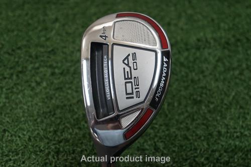 Adams A12 Os Degree 4 Hybrid Stiff Flex Graphite 0688808 Left Handed Golf Club