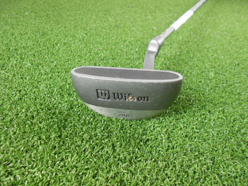 """Wilson 208 35"""" Steel Putter Good Condition Used Golf Right Handed Golf Club"""