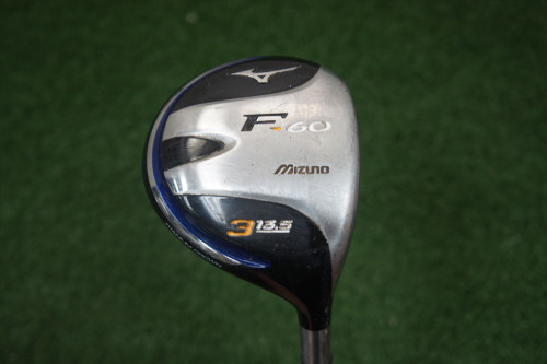 Mizuno F-60 13.5 Degree 3 Fairway Wood Regular Flex Graphite 0259008 Used Golf