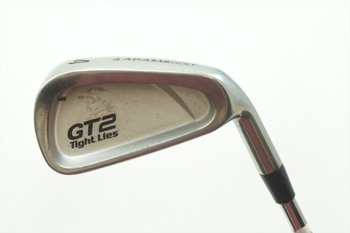 Adams Gt 2 Undercut Tight Lies 4 Iron Flex Steel 0621362 Right Handed Golf Club