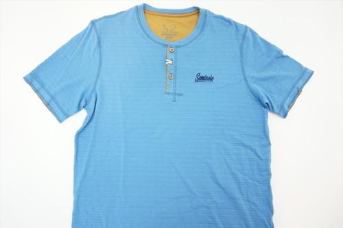 New  Salute Golf Seminoles Logo Polo Mens Size Large  Blue Tee Shirt 247B