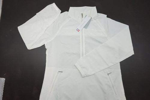 New  Cutter & Buck Golf Jackie Pullover Womens Size Large  White  253B