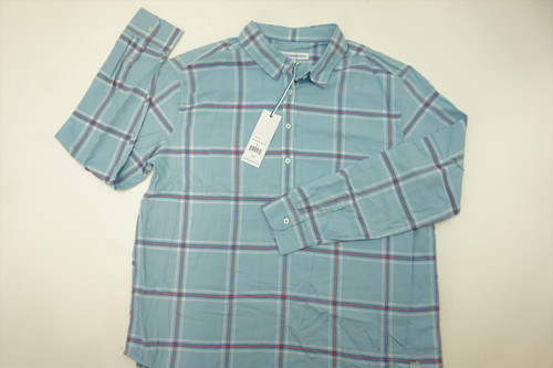 New  Southern Tide Golf  Button Down Mens Size Large  Sky Blue  255A
