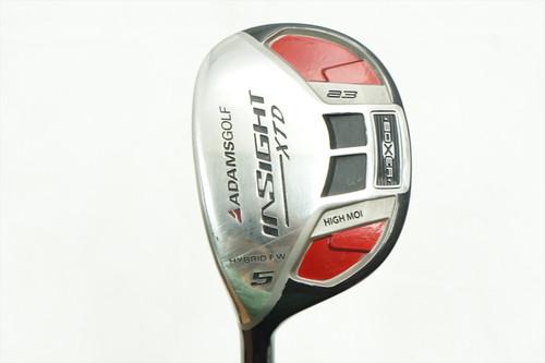 Adams Insight Xtd Pro 5 Fairway Wood Senior A Flex Graphite 0769133 Left Hand Lh