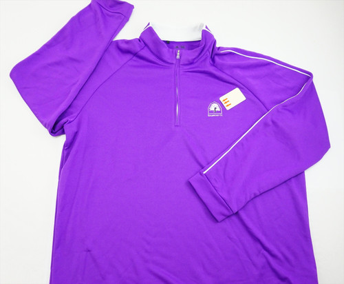 New Adidas Golf Climalite Pullover Mens Size Xl Violet 319A 784807