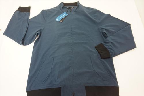 New Travis Mathew Golf Ridgley Jacket Mens Size XL Blue Wing 395A 00823423