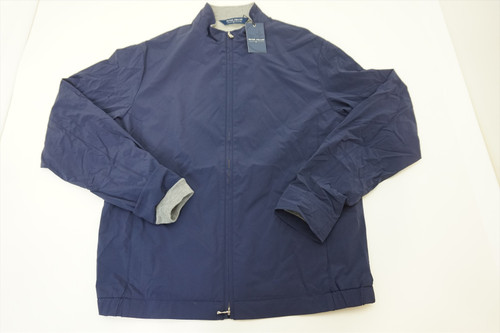 New Peter Millar STEALTH LIGHT Jacket Size Medium NAVY 2020 Spring 403B 827690