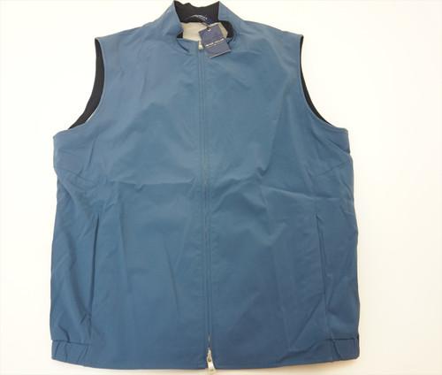 New Peter Millar STEALTH LIGHT Vest Mens Size Medium BLUE AGATE 2020 Spring 403B