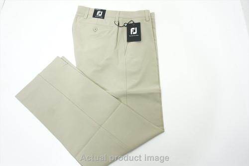 New  FootJoy Golf Traditional Pants Mens Size 30 30 Khaki Regular 430A 00839291
