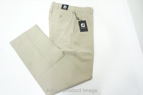 New  FootJoy Golf Traditional Pants Mens Size 30 32 Khaki Regular 433B 00841663