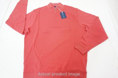 FootJoy 1857 Spandex Interlock Mid Lyer Pullover Mens Large Gamet 447A