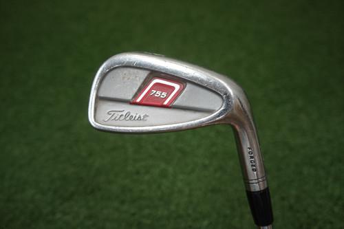 Titleist 755 Forged  Stiff Flex Single Iron 9 Iron  Steel 0244764 Used Golf