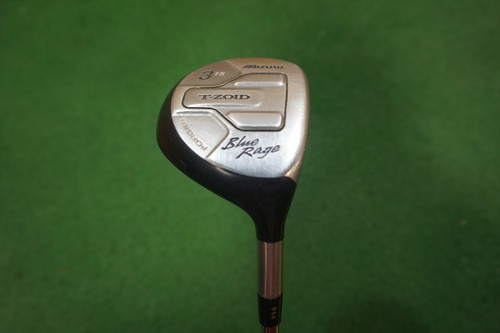 Mizuno Blue Rage 15 Degree 3 Fairway Wood Regular Flex Steel 0622104