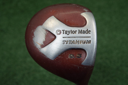 TaylorMade Titanium 9.5 Degree Driver Graphite Stiff Flex 233671-a Used Golf