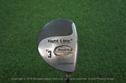 Adams Tight Lies 2 16* 3 Fairway Wood Graphite Stiff Flex 71168 Used Golf
