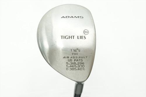ADAMS TIGHT LIES 16 DEGREE 3 FAIRWAY WOOD FLEX GRAPHITE 0762313