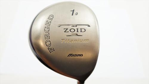 MIZUNO T-ZOID FORGED TI 9 DEGREE DRIVER STIFF FLEX ACCEL ARC GRAPHITE 0790399