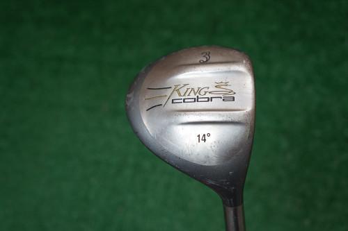 Cobra 14 Degree 3 Fairway Wood Regular Flex Graphite 0270455 Used Golf