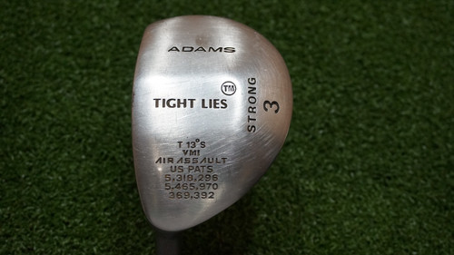 Adams Air Assault 13 Degree STRONG 3 Fairway Wood Regular Graphite 0605597 LH