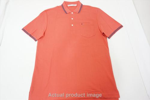 New  Criquet Golf Classic Polo Mens Size  Large Orange Regular 458B 00849196