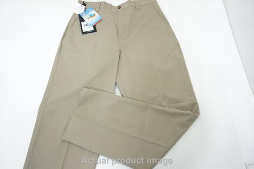 New  Adidas Golf MCL FLT FRNT Pants Mens Size 32 32 Khaki Regular 462B 00851030