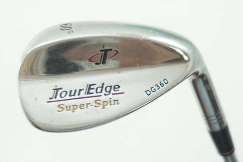 Tour Edge Super-Spin Dg360 Lob 60 Degree Wedge Wedge Flex F.S Steel 0735926