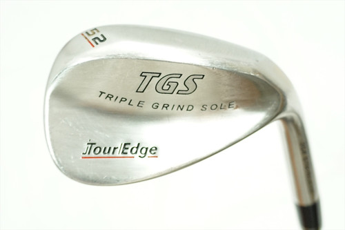 TOUR EDGE TGS GAP 52 DEGREE WEDGE WEDGE FLEX STEEL 0786279
