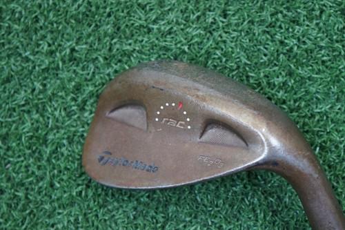 Taylormade Rac Fe2O3 56* Degree Wedge Flex Steel Shaft 147012-A Used Golf Righty
