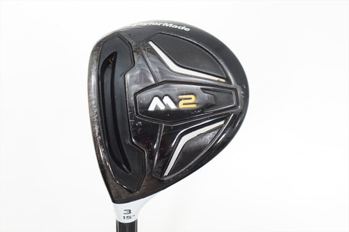 Taylormade M2 15 Degree 3 Fairway Wood Senior Flex Graphite 0841226 Lefty Lh