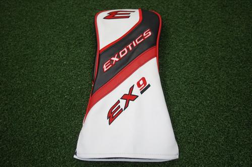 Tour Edge Exotics EX9 Driver Headcover Very Good 6-D Golf Head Cover